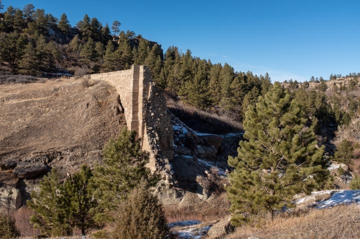 Castlewood Canyon Dam
